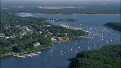 Greenwich Cove Stock Footage