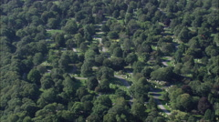 Swan Point Cemetery Stock Footage