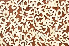 English alphabet - stock photo