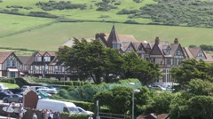 Woolacombe Bay Hotel Stock Footage
