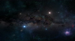 Into the Void - Journey Through Space Stock Footage