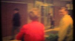 Boy and girls in Jr. high school,  last day of school - stock footage