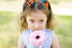Innocent girl Stock Photos
