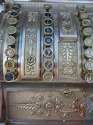 old cash register - stock photo