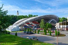 Summer Amphitheatre, Vitebsk, Belarus Stock Photos