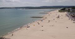 Sandbanks Aerial Beach Footage, D-Log, Apple ProRes 4444, 4096×2160, #1 Stock Footage