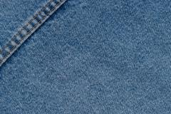 Denim jeans texture or denim jeans background with seam of fashion jeans desi - stock photo