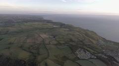 The Cambrian Coastline Stock Footage