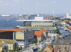 Copenhagen in Denmark - stock photo