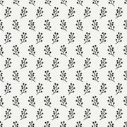 Hand drawn autumn seamless pattern made of berries. Wrapping paper. Abstract Stock Illustration