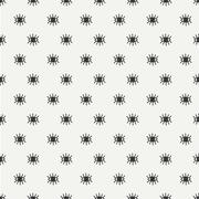 Hand drawn seamless pattern with open and close eyes. Wrapping paper. Abstract Stock Illustration