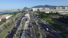 Olympic Arena - Stadium - Rio de Janeiro 2016 Stock Footage