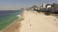 Copacabana, Rio de Janeiro, Brazil - Rio 2016 - Olympic City Stock Footage