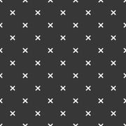 Hand drawn geometric seamless ink pattern with brush strokes. Wrapping paper Stock Illustration