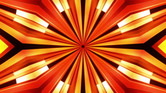Three dimensional new retro orange Stock Footage