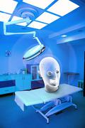Surgical interior with ghost Stock Photos
