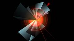 Prism-Pyramidal Kaleidoscopic Pattern 04c Arkistovideo
