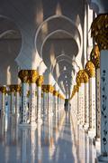 Sheikh Zayed White Mosque in Abu Dhabi, UAE Stock Photos