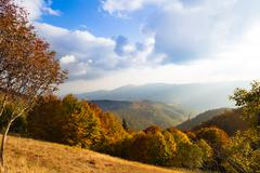 Scenic view of Alsace hills Stock Photos