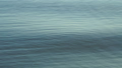 Footage weak waves of blue water in the river. 4K Stock Footage