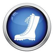 Hiking boot icon Stock Illustration
