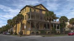 Historic Aiken-Rhett House, 1820's Era Stock Footage
