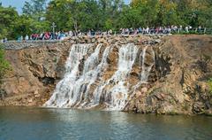 Waterfall cascade Stock Photos