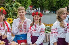Teenagers ukrainian Stock Photos