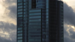 Skyscraper Building / Corporate Building / Clouds and Sky Stock Footage