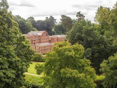 Styal, Cheshire, UK. July 26th 2016. Quarry Bank Mill in countryside setting Stock Photos