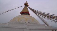 Boudhanath Stupa Stock Footage