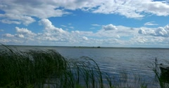 Lake Nero. The Golden ring of Russia. Rostov Veliky Stock Footage