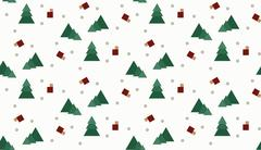 Seamless wrap Christmas pattern for gifts. Positive emotions. Stock Illustration