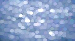 Morning Light Blue Spots Stock Footage