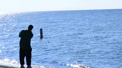 Skipping Stones Stock Footage