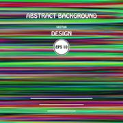 Vector color glitch abstract background. - stock illustration
