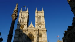 Abbey Westminster Stock Footage