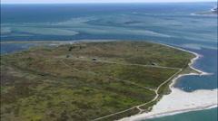 Madaket aerial Stock Footage