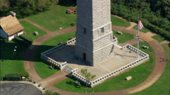 Pilgrim Monument Stock Footage