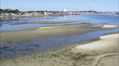 Provincetown Harbour Stock Footage