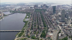 Back Bay Stock Footage