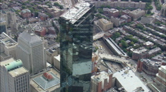 John Hancock Tower Stock Footage