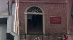 Old North Church Stock Footage