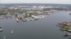 Boston Harbour Stock Footage