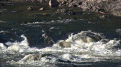 Pawtucket Falls (Lower) Stock Footage