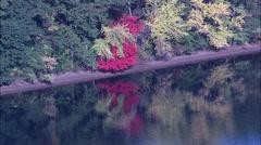 Merrimack River Near Lowell Stock Footage