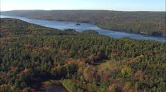 Quabbin Reservoir Stock Footage