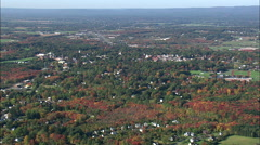 Amherst aerial Stock Footage
