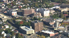 Quincy aerial Stock Footage