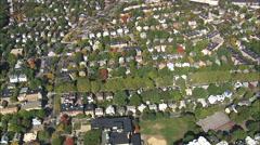 Brookline Suburbs Stock Footage